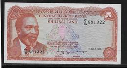 Kenya - 5 Schillings -  Pick N°15  - SUP - Kenya