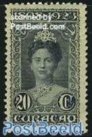 Netherlands Antilles 1923 20c, Perf. 11.5, Stamp Out Of Set, (Unused (hinged)), Stamps - Curaçao, Antille Olandesi, Aruba