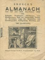 Snoeck's Almanach 1948 (9x11cm) 166e Jaargang (Gent Snoeck Ducaju En Zoon Begijnhoflaan) - Antique