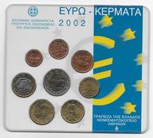 2002 - GRECE - COFFRET SET BU COMPLET EURO - - Greece
