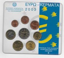 2003 - GRECE - COFFRET SET BU COMPLET EURO - - Grèce