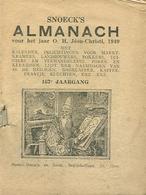 Snoeck's Almanach 1949 (9x11cm) 167e Jaargang (Gent Snoeck Ducaju En Zoon Begijnhoflaan) - Antique