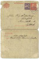 Sweden 1928 Uprated Letter Card Strömstad To Ostenflede, Kreis Melle, Germany - Postal Stationery