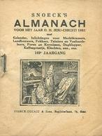 Snoeck's Almanach 1951 (9x11cm) 169e Jaargang (Gent Snoeck Ducaju En Zoon Begijnhoflaan) - Antique
