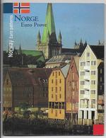2004 - NORVEGE - COFFRET SET BU COMPLET ESSAIS PRIVES EURO - - EURO