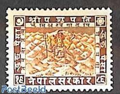 Nepal 1930 2p, Stamp Out Of Set, (Unused (hinged)) - Nepal
