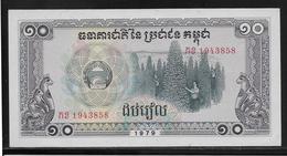 Kampuchéa - 10 Riels -  Pick N°30  - NEUF - Banknotes