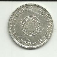 10 Escudos 1966 Moçambique Silver - Mozambique