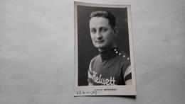 Louis Minardi équipe Helyett Champion De France 1939 Cyclisme Vélo 2 Scan - Cyclisme