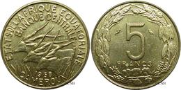 États D'Afrique Équatoriale-Cameroun - 5 Francs 1968 - SPL - Mon2832 - Monnaies