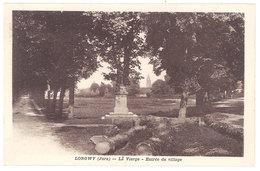 Cpa Longwy ( Jura ) - La Vierge - Entrée Du Village - France