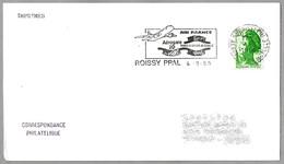 TERMINAL 2D AEROPUERTO PARIS-ROISSY CAHRLES DE GAULLE - Airport. Rpissy 1989 - Aviones