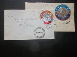 Tonga: 1968 & 1981 Covers To Nukualofa, Etc. (#GE11) - Tonga (...-1970)