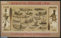 Bangladesh 2015 Traditional Boats S/s, (Mint NH), Ships & Boats - Transport - Ships