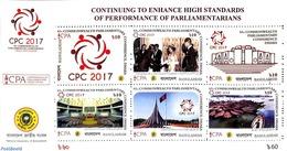 Bangladesh 2017 CPC 2017 6v M/s, (Mint NH) - Bangladesh