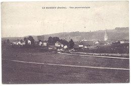 2 Cpa Le Russey - Vue Panoramique / église - Autres Communes