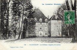 CPA - HOUECOURT (88) - Aspect Du Château En 1911 - Francia