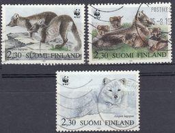 FINLAND - 1993 - Tre Valori Usati: Yvert 1166, 1168 E 1169, Come Da Immagine. - Finlande