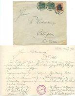Germany 1920 Cover & Letter Melle - Geflügelzucht-Verein Melle U. Umgegend. - Covers & Documents