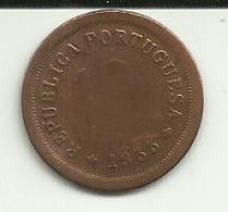 10 Centavos 1933 Guiné Bissau Rare - Guinea-Bissau