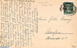 Germany, Empire 1928 Postcard From Bad Herrenalb (with Railway Postmark), (Postal History), Stamps - Germany