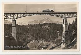 Suisse. Pont De La Gryonne Et Dents Du Midi (3637) - VD Waadt