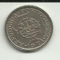 2.5 Escudos 1971 S. Tomé - Sao Tome Et Principe