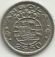 2.5 Escudos 1953 Angola - Angola
