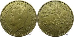 Monaco - Principauté - Rainier III - 50 Francs 1950 - TTB - Mon2873 - Monaco