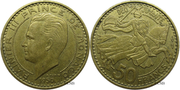 Monaco - Principauté - Rainier III - 50 Francs 1950 - TTB - Mon2873 - 1949-1956 Old Francs