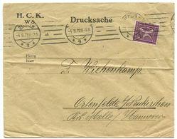 Germany 1922 Cover Berlin - H.C.K. To Ostenfelde , Neukirchen Krs. Melle - Germany