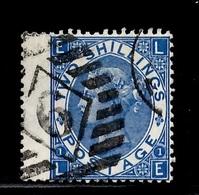 Grande-Bretagne YT N° 38 Oblitéré. B/TB. A Saisir! - 1840-1901 (Victoria)