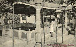 TOMB OF KHAJA KUTBUDDIN BAKHTIAR. KAKI R. A, DELHI - INDIA - India