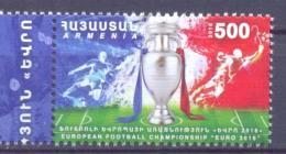 2016. Armenia, European Football Championship EURO'2016, 1v,  Mint/** - Armenia