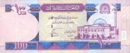 AFGHANISTAN P. 75b 100 A 2010 UNC - Afghanistan