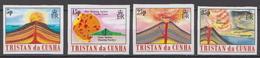 Tristan Da Cunha MNH Imperforated Set - Volcanos