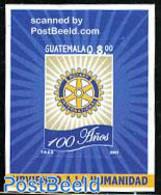 Guatemala 2005 Rotary Centenary S/s, (Mint NH), Various - Rotary - Rotary, Lions Club
