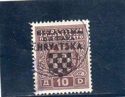 CROATIE 1941 O - Croazia