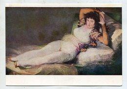 PAINTING - AK 325970  Goya - La Maya Vestida - Peintures & Tableaux
