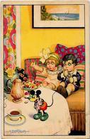 CPA Bertiglia Mickey Walt Disney écrite - Bertiglia, A.