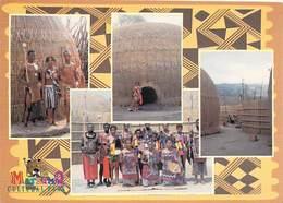 AFRIQUE Du SUD  South Africa Traditional Swazi Families And Homestead At MATSAMO *PRIX FIXE - Afrique Du Sud