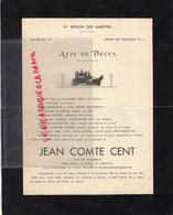 87- LIMOGES- 1963-RARE AVIS FAIRE PART IV E REGION MARTYRS-CLASSE 62-DICTIONNAIRE BIDASSE-MILITAIRE-LOMBRIC PANAZOL - Décès