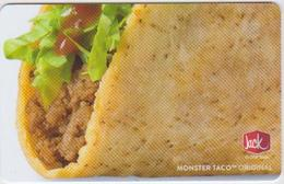 GIFT CARD - USA - JACK IN THE BOX-019 - Gift Cards