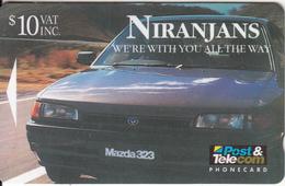 FIJI ISL.(GPT) - Niranjan Autoport Ltd/Mazda 323, CN : 08FJD, Tirage 12500, Used - Fiji