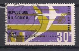 YT N° PA 44 - Oblitéré - Mise En Service DC8 - Congo - Brazzaville