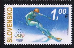 5.- SLOVAKIA 2018 The XXIII Winter Olympic Games In PyeongChang - Juegos Olímpicos