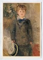 PAINTING - AK 326000 Berthe Morisot - Kleiner Knabe In Grau - Pintura & Cuadros