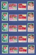 VR China 1972 Tischtennis Mi.-Nr. 1117-1120 Lot 5 Sätze **  N45-N48 MNH - Chine