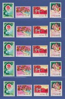 VR China 1972 Tischtennis Mi.-Nr. 1117-1120 Lot 5 Sätze **  N45-N48 MNH - Non Classificati