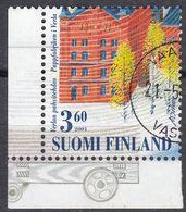 FINLAND - 2001 - Yvert 1530 Usato. - Finnland